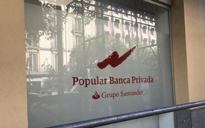 Popular Banca Privada desaparece: borrón y cuenta nueva