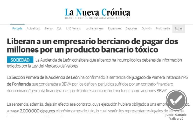 Condenan al Banco de Santander a devolver 12.000 euros a unos clientes